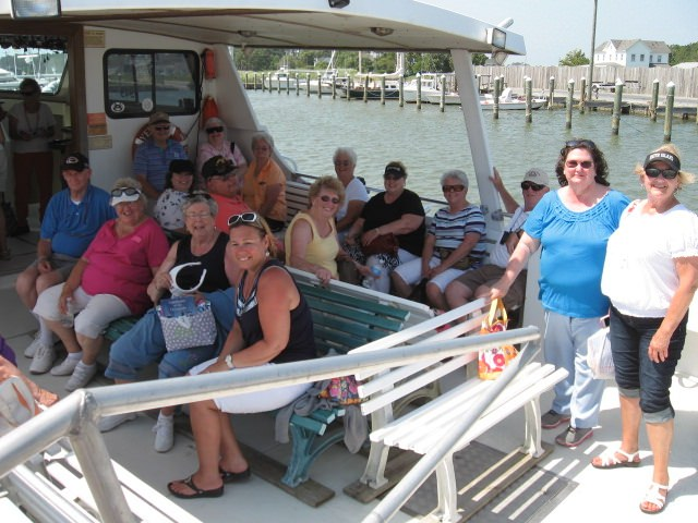 A Happy Group After A Tour On The Sawyer