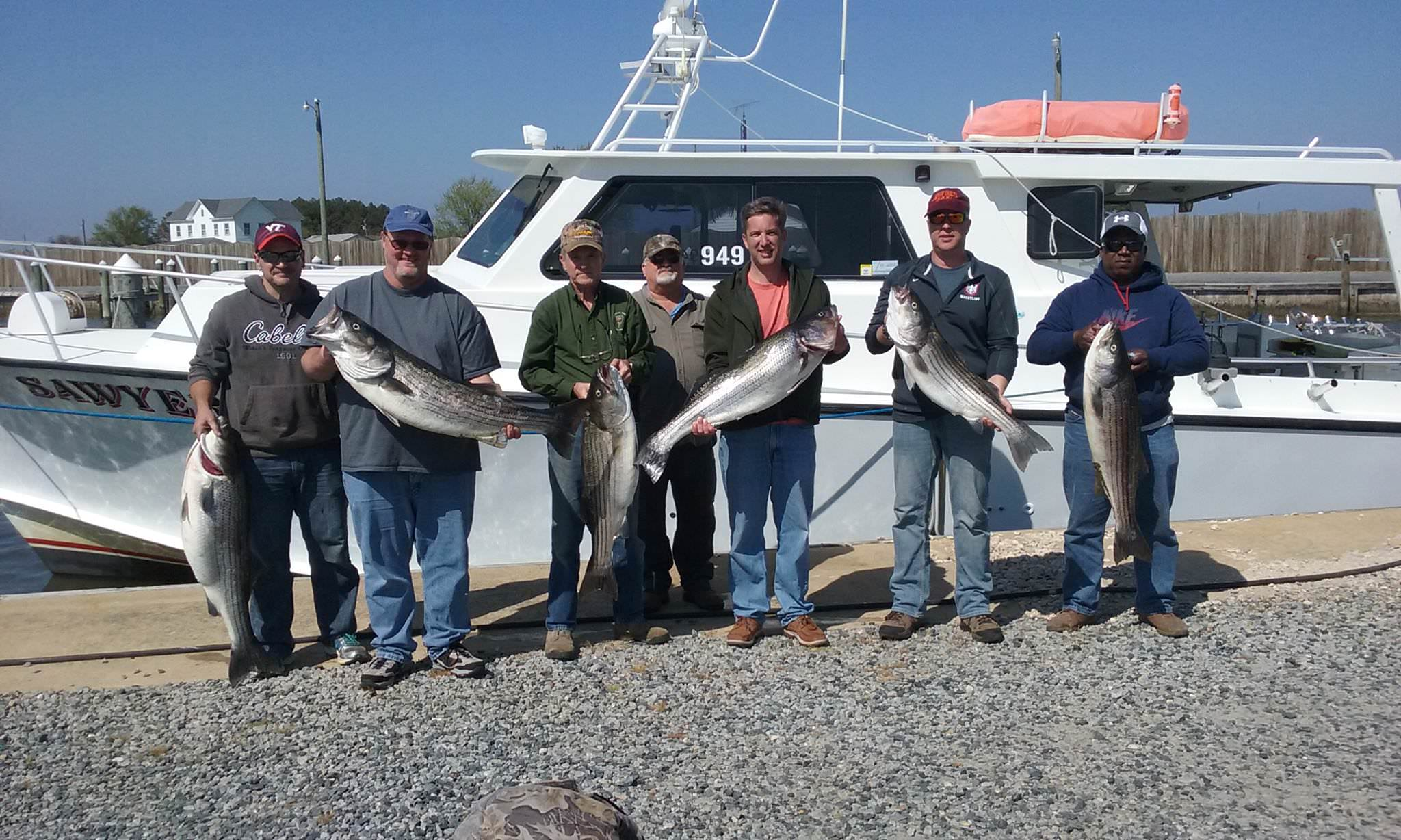 Chesapeake Bay Fishing Charters For Rockfish!