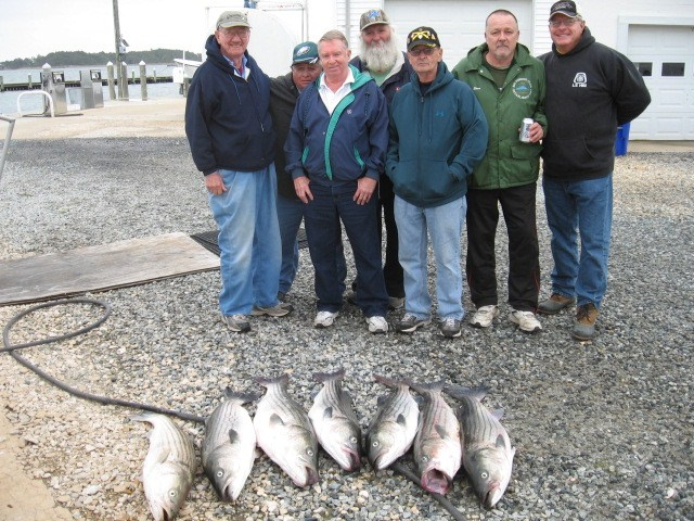 Another Big Day Of Fishing On The Chesapeake Bay! Sawyer Chesapeake Bay Fishing Charters