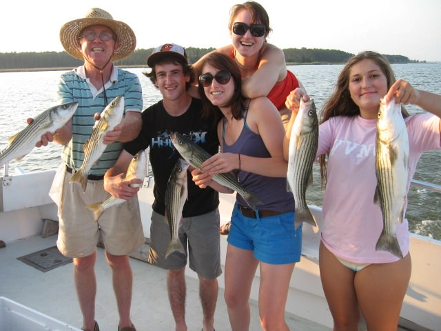 Rockfish, Bluefish, and Much More on the Chesapeake Bay!
