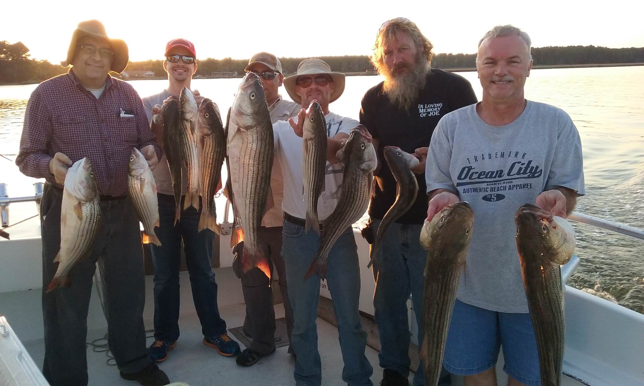 Great Fishing On The Chesapeake Bay!