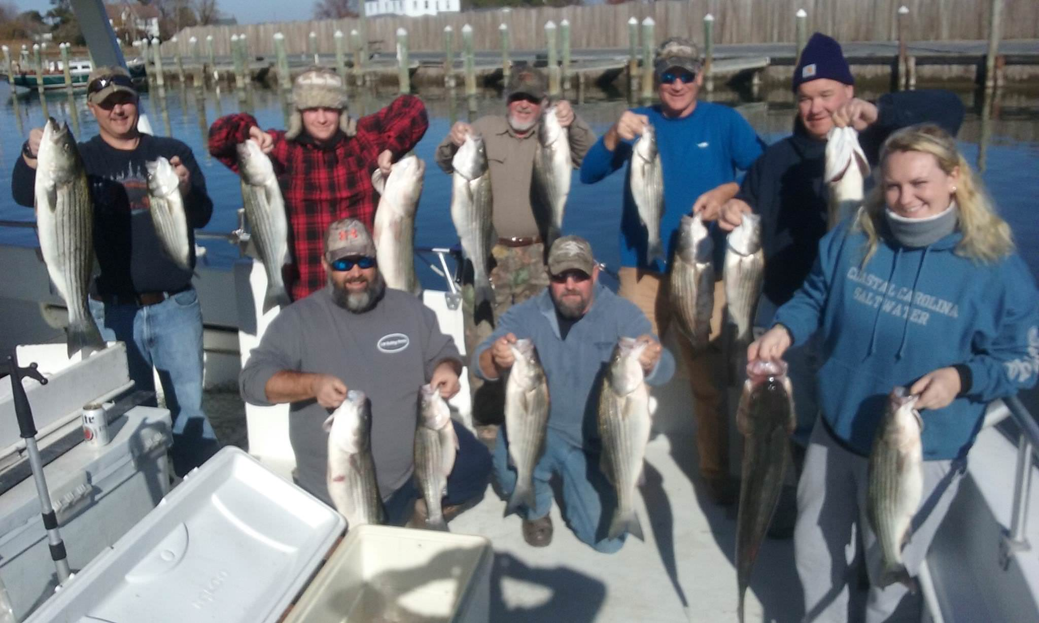 Chesapeake Bay Fishing on Black Friday!