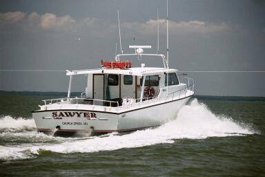 Built in 2002 for the finest in Chesapeake Bay fishing off of Maryland's Eastern Shore, carries up to 49 passengers!