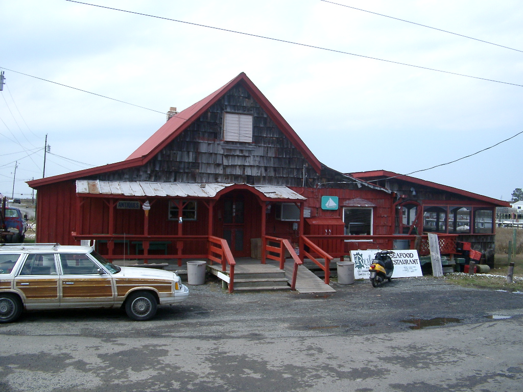 Restaurant on Smith Island